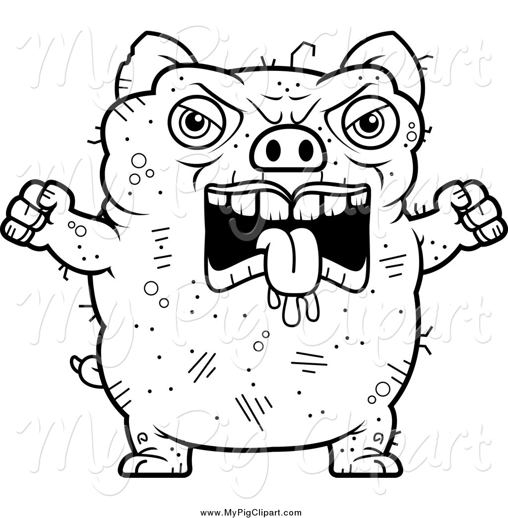 Ugly Mouth Coloring Page Printable Coloring Pages