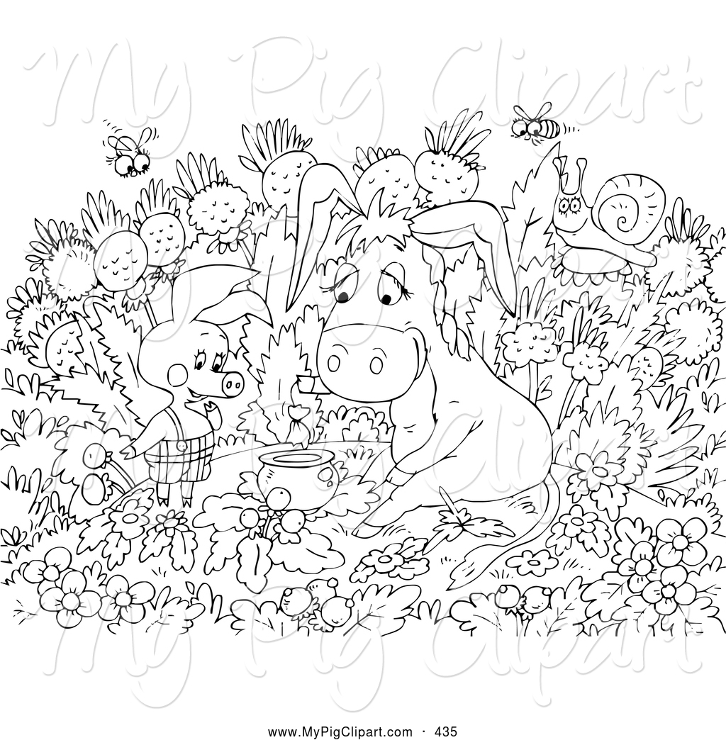 coloring pages black and white - photo#24