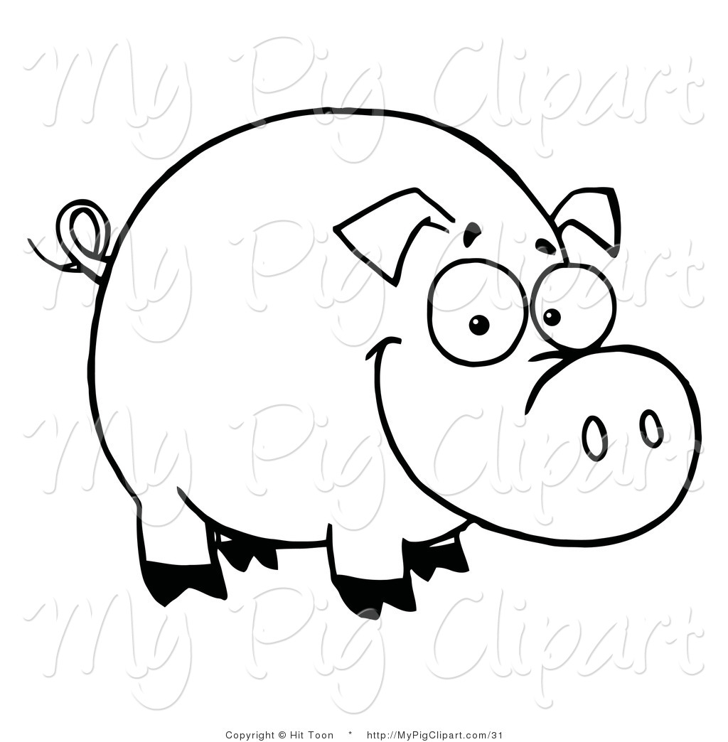royalty free stock pig designs of coloring pages