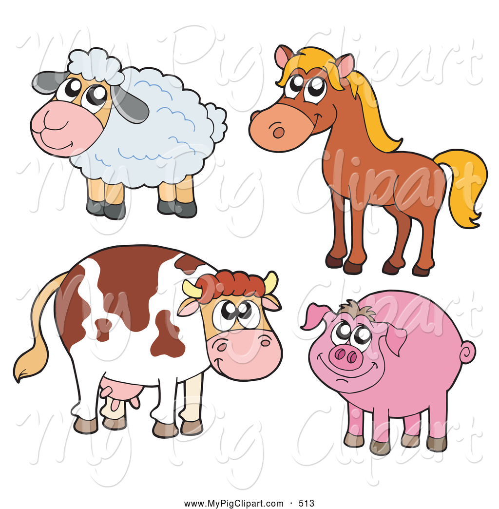 clipart pictures farm animals - photo #16
