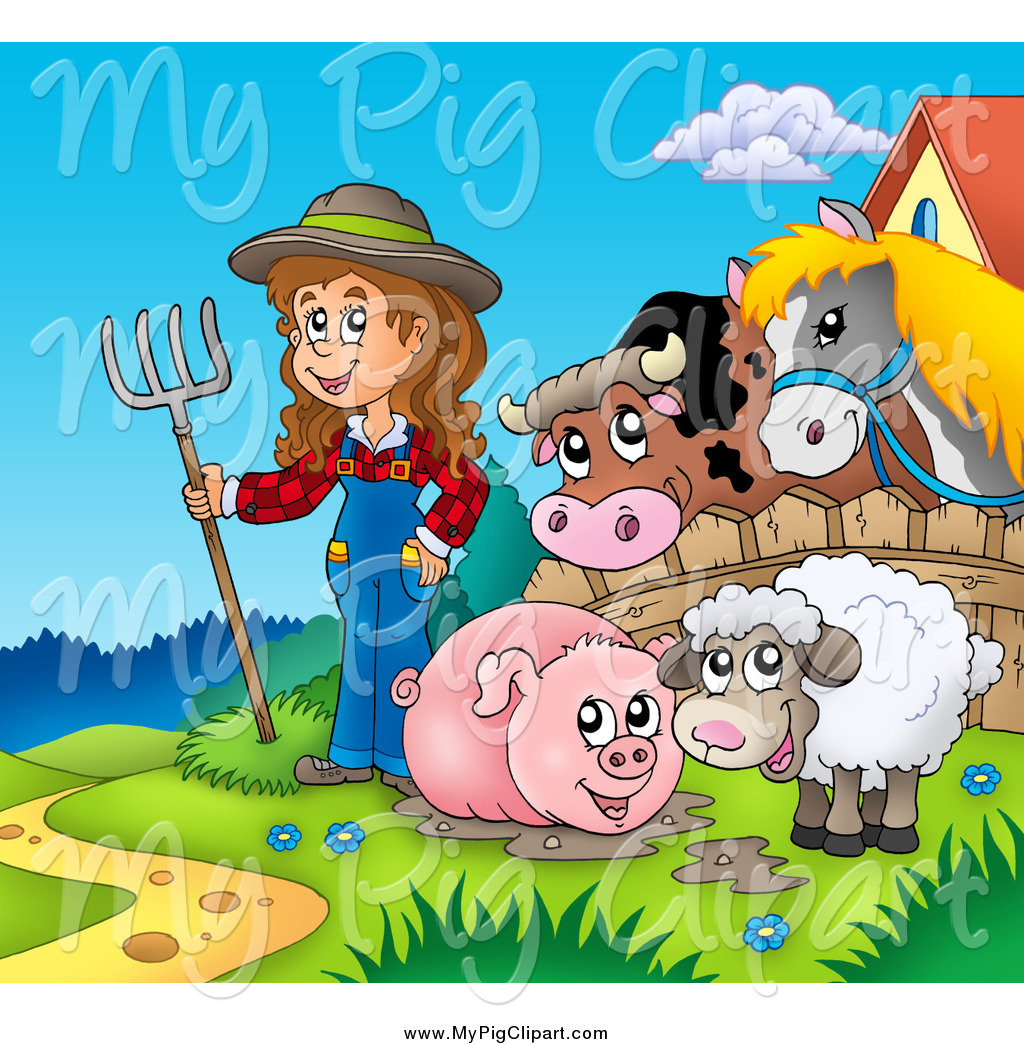 Royalty Free Farm Animal Stock Pig Designs Page 4