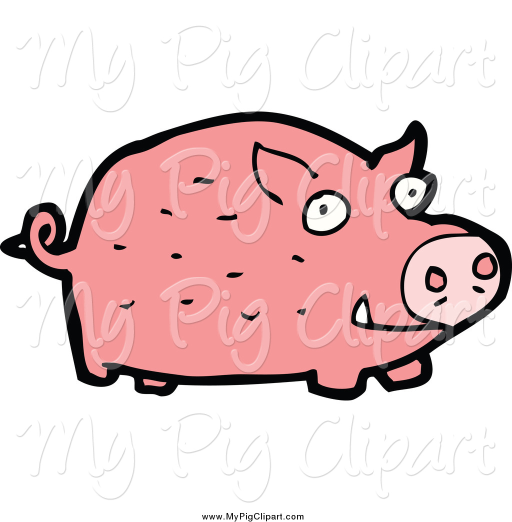 free clip art pink pig - photo #44