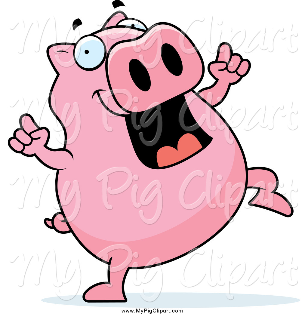 free clip art pink pig - photo #50