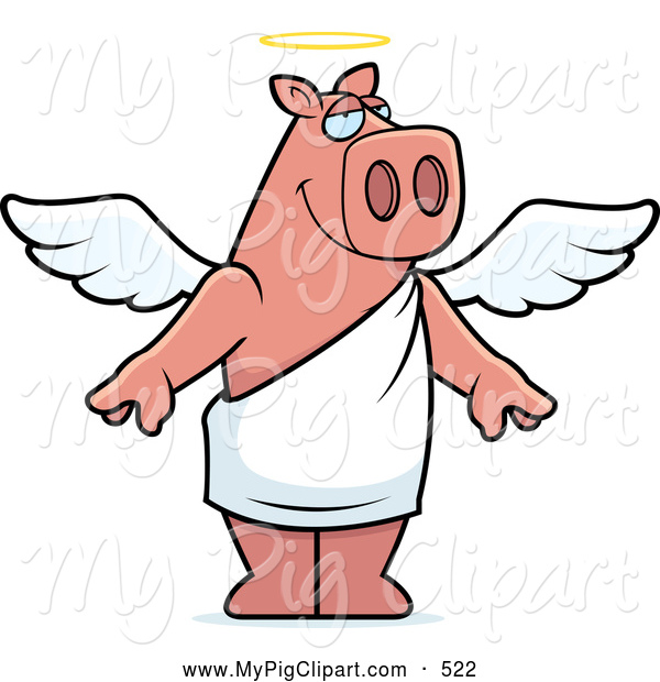 Animated pigs standing - photo#26