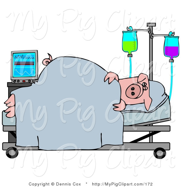 Hospital Bed Clip Art Pictures to pin on Pinterest